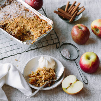 Made at Home by Zest Apple Crumble